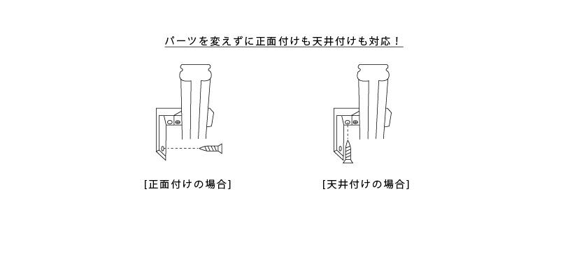 角型伸縮レールクロスライド
