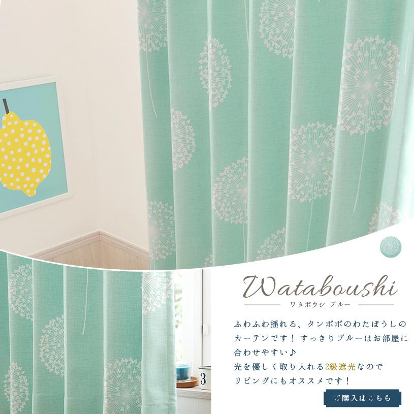ワタボウシ〜ブルー〜