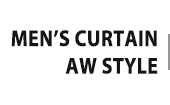 MEN'S CURTAIN AW STYLE