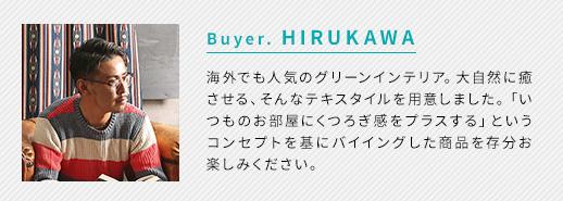 Buyer. HIRUKAWA
