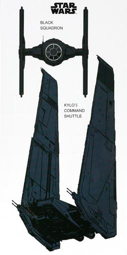 KYLO'sコマンドシャトル