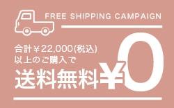 20,000円以上のご購入で送料無料!