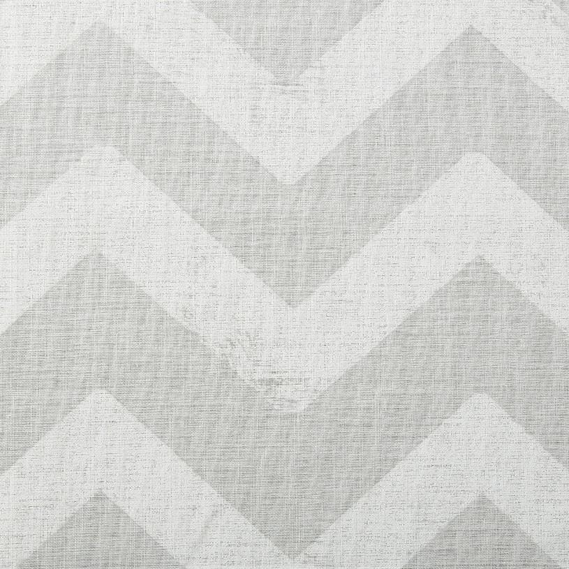 メンズカーテン ベイライフ ボイルレース ~ウェーブ~ ナチュラルホワイト