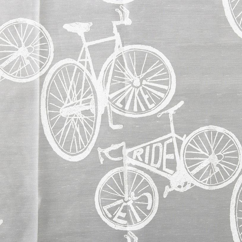 メンズカーテン ベイライフ ボイルレース サイクル ナチュラルホワイト