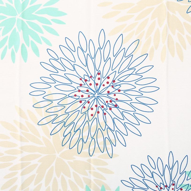北欧デザインカーテン ~マム~ グリーン
