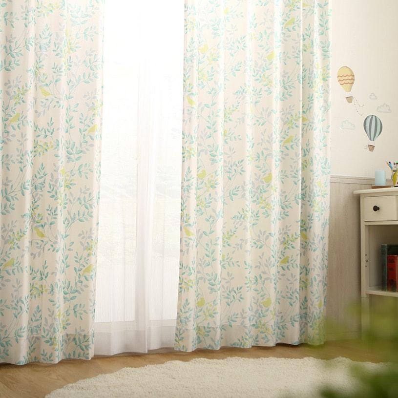 カーテン オーダーカーテン 緑(グリーン) レーヴ ~ペピエ~