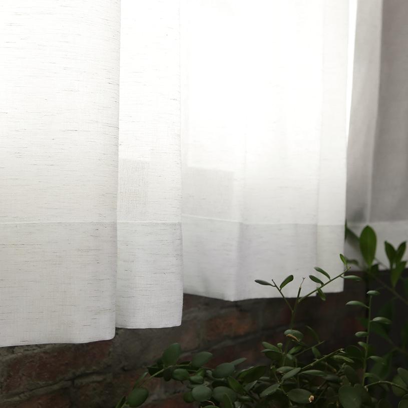 メンズカーテン ビンテージ ボイルレース 〜ロビンソン〜 アイボリー
