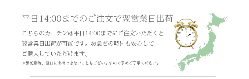 ����14:00�܂ł̂������ŗ��c�Ɠ�o��