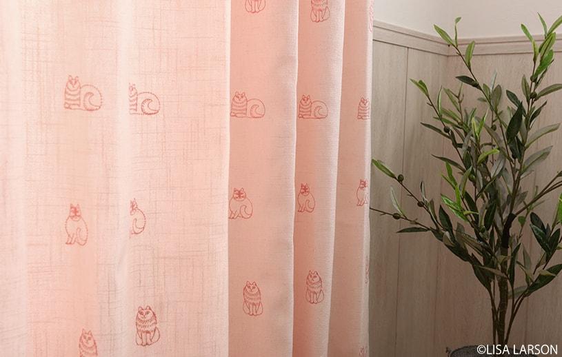 アスワン リサ・ラーソン 〜スケッチ(刺繍)〜 ピンク