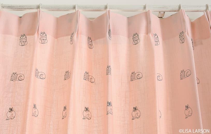 アスワン リサ・ラーソン 〜スケッチ(刺繍)〜 グレー