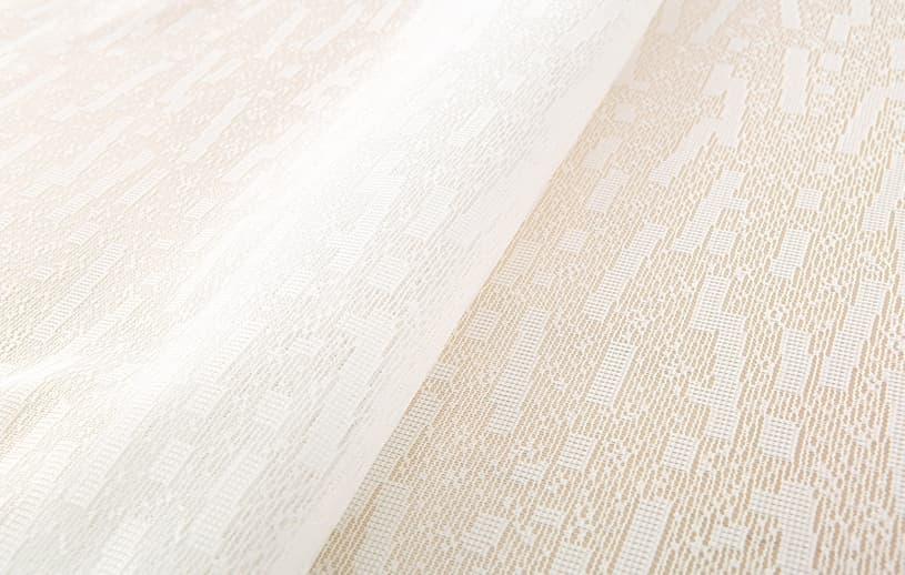 メンズ レースカーテン 白(ホワイト) ベイライフ ガレレース