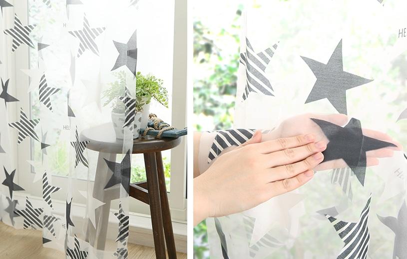 メンズカーテン ベイライフ オパールレース 〜ルシーダ〜 モノトーン