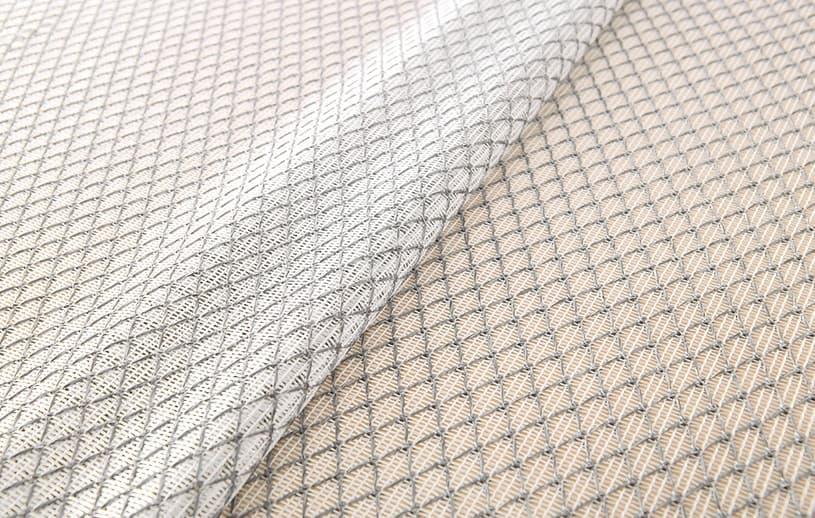 メンズカーテン ビター ミラーレース 〜ネクサス〜 グレー