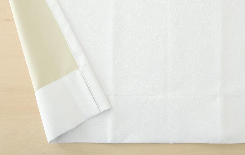 カーテン ジャカード ~ホーリー~ 白(ホワイト)