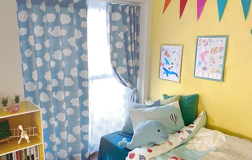 ~もくもくクジラ~ ブルー