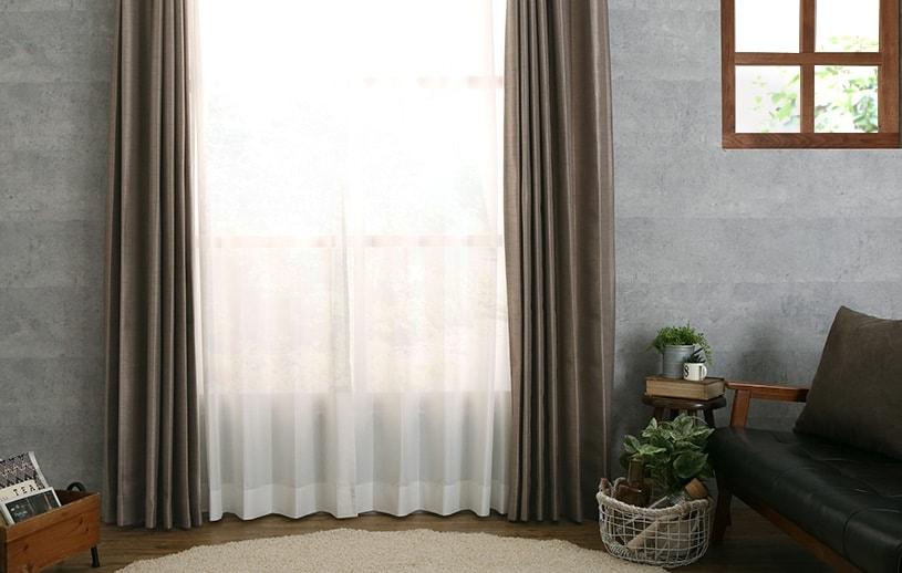 掃き出し窓レースカーテン