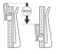 4cm調整可能