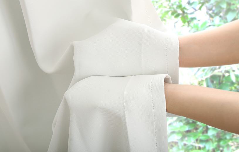 プレーン遮光 〜シュガー〜 ホワイト