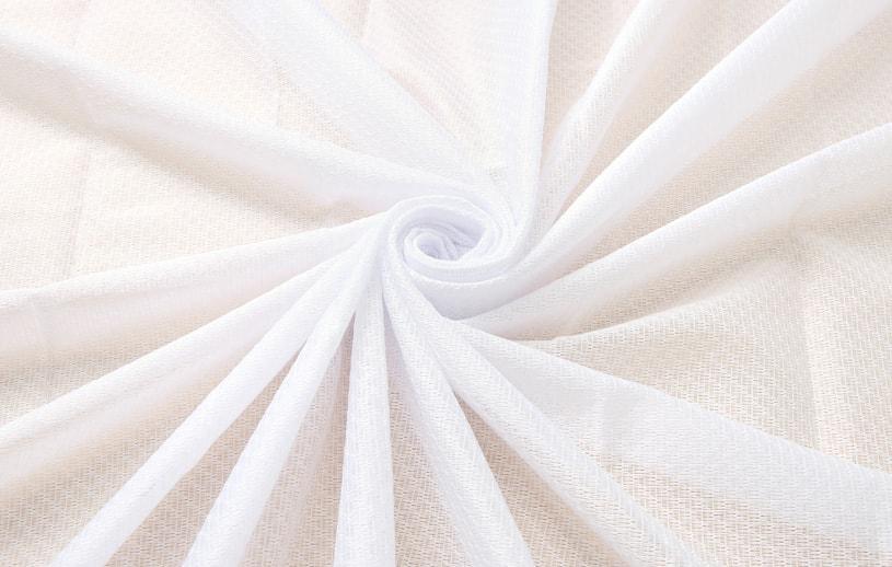 レースカーテン 白(ホワイト) サッシュ