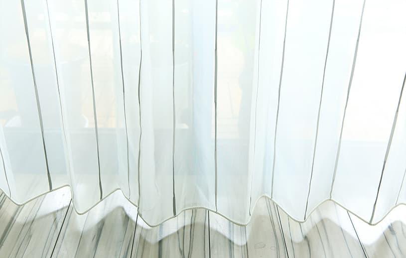 レースカーテン ~セルマン~ 白(シルバー)