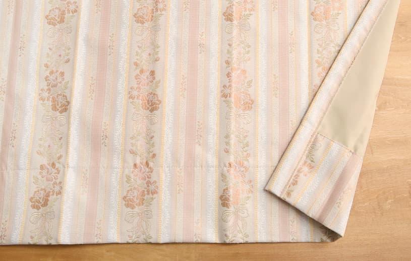 ジャカード 〜リボンローズ〜 ピンク