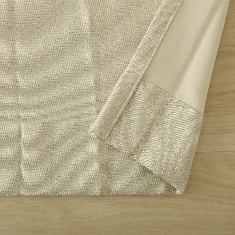 掃き出し窓ドレープカーテン