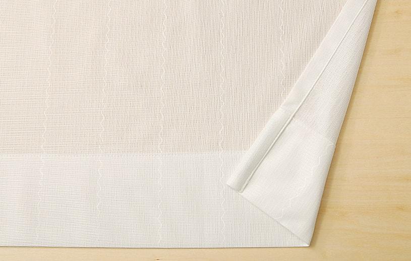 スーパーアウトレット レースカーテン 〜コレンテ〜 ホワイト