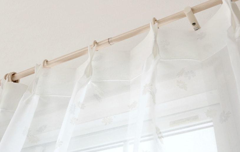 スーパーアウトレット レースカーテン 〜ティニー〜 ホワイト