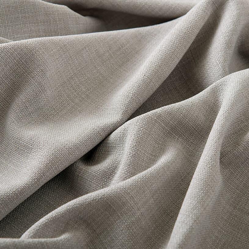 国内トップシェアブランド、サンゲツの洗えるリネン調カーテン~ライズ~ライトグレー