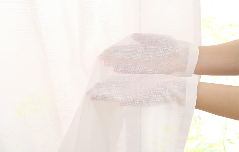 レースカーテン 白(ホワイト) スミノエ デザインライフ ピステボイル