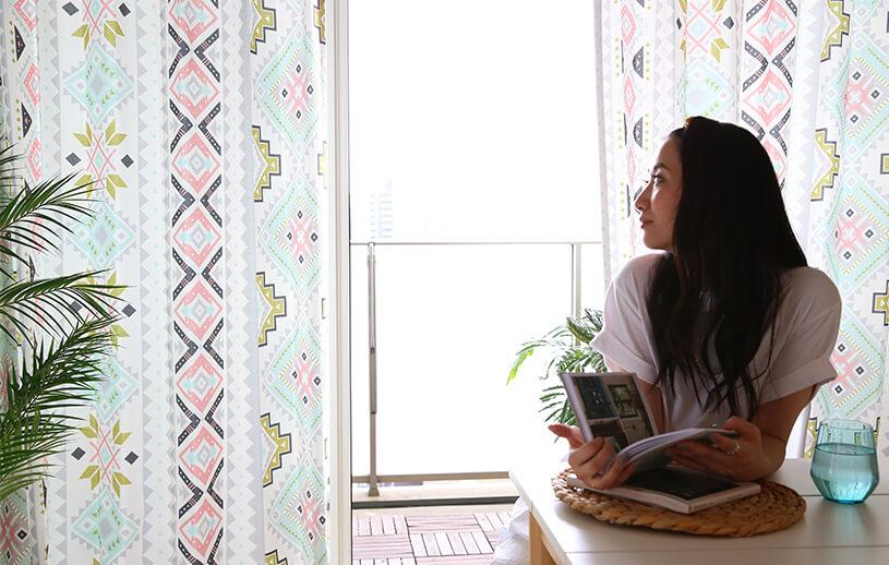 オトナ可愛いパステルカラーの新しいボヘミアン~Sweet bohemian~ ピンク