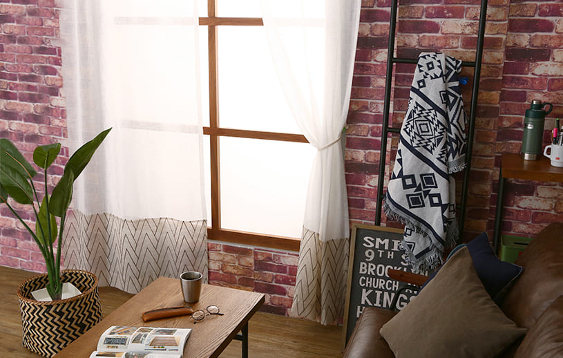 洗練された部屋に仕上げるナチュラルカーテン ~ペルソナ~