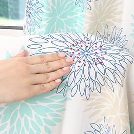 北欧デザインカーテン ~マム~