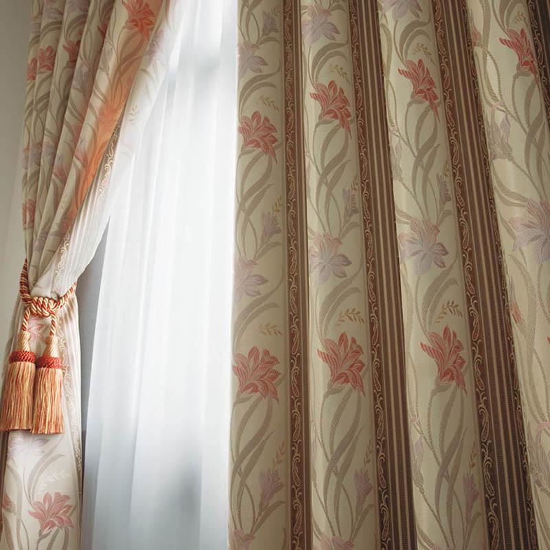 カーテン オーダーカーテン シンコール メロディア エレガント ~セイレーン~ ピンク