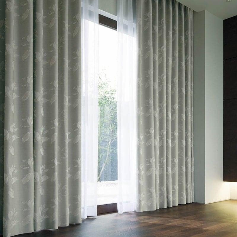 カーテン オーダーカーテン シンコール メロディア 遮光 ~ファーブラ~ ターコイズ