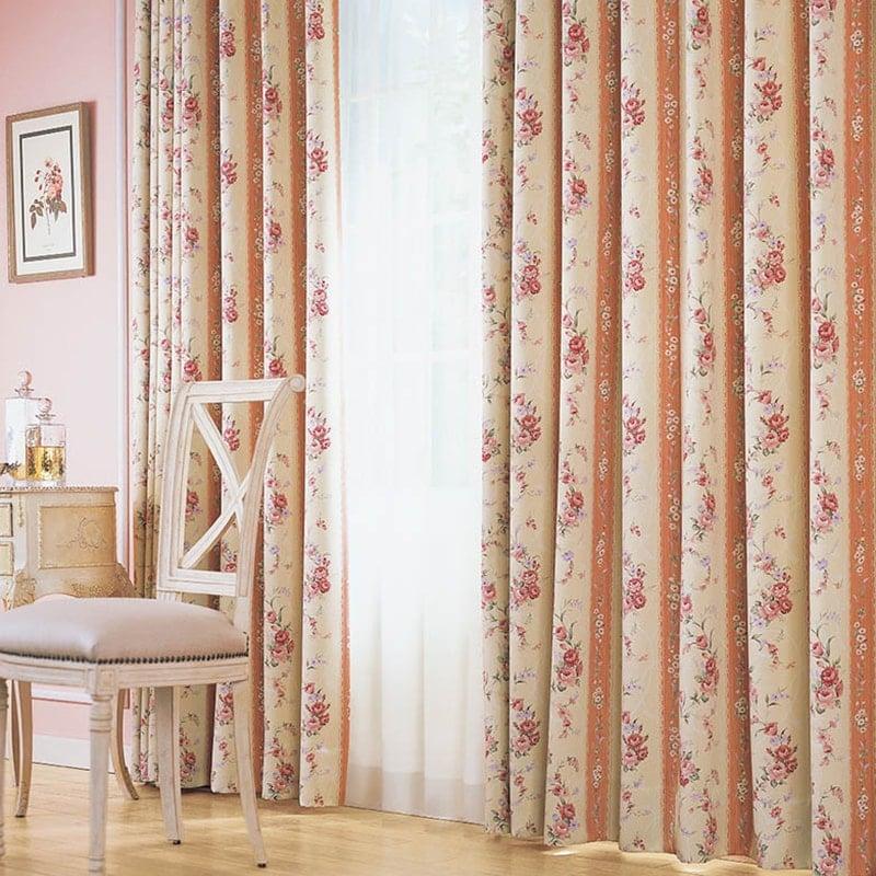 カーテン オーダーカーテン シンコール メロディア 遮光 ~セレージア~ ピンク