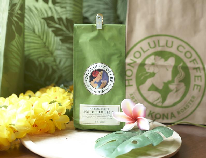 【第2回 】おいしいコーヒーがある暮らし「おすすめコーヒー豆」~ホノルルコーヒー ホノルルブレンド~