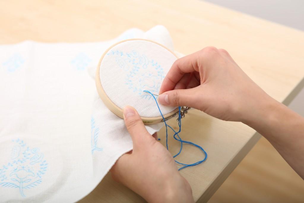 【ハンドメイド】ひそかなブーム?!</br>刺繍を取り入れてオリジナルアイテムを楽しもう!