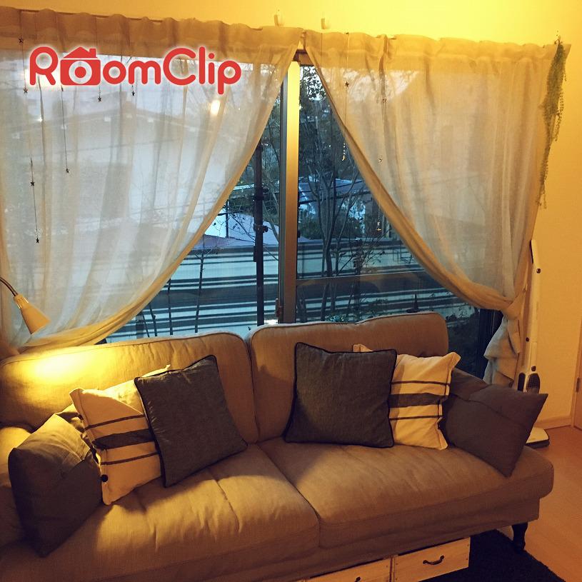 """【後編】RoomClip(ルームクリップ)のユーザーさんがコーディネートする天然素材""""リネン""""のカーテン!"""