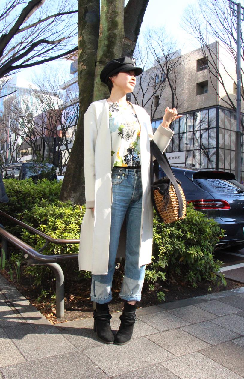 【第13回】表参道ストリートスナップ!2017春のトレンド「花柄」ファッションをお届け!