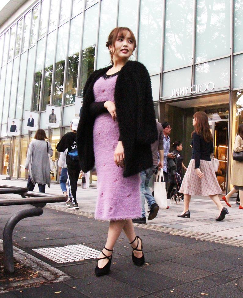 【第17回】表参道ストリートスナップ!冬と言えば「ファー」!あの人気モデルの私服ファー・オン・ファーコーデ!