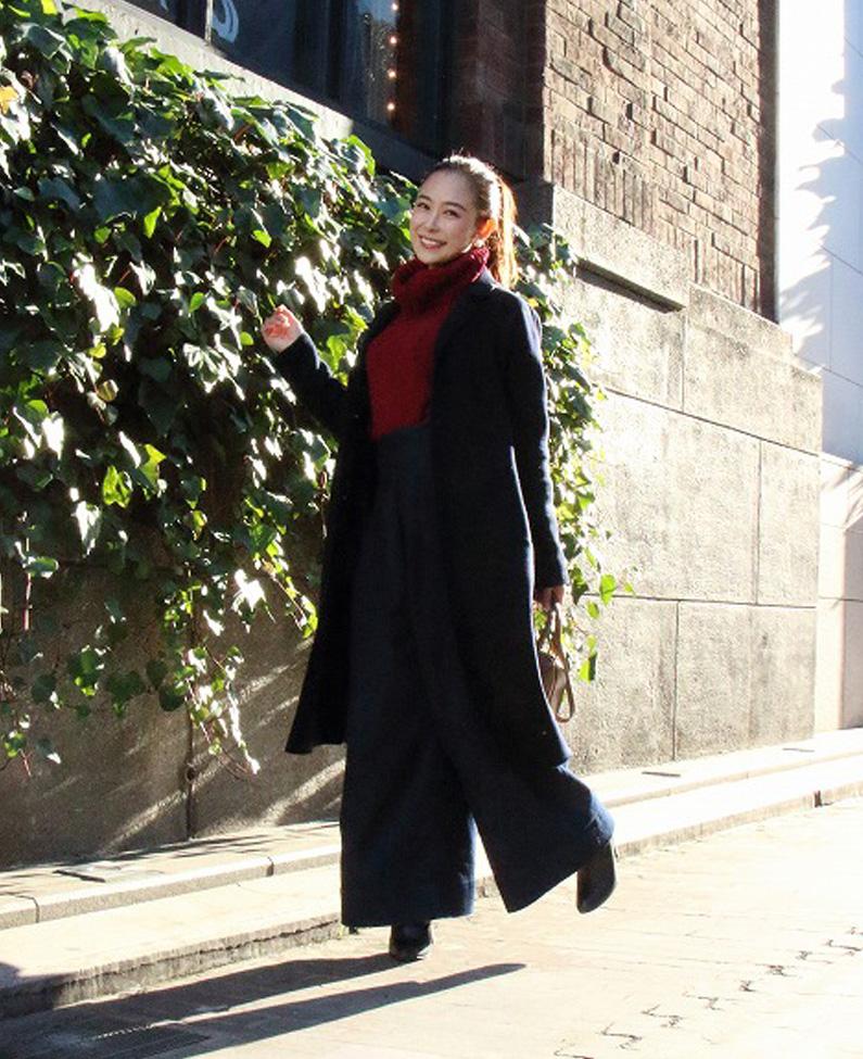 【第17回】表参道ストリートスナップ!2017冬のトレンドコートは「超ロング!」