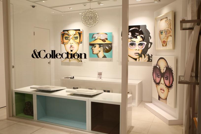 【青山】世界のセレブが注目するポップアートのライフスタイルショップ「&Collection(アンドコレクション)」