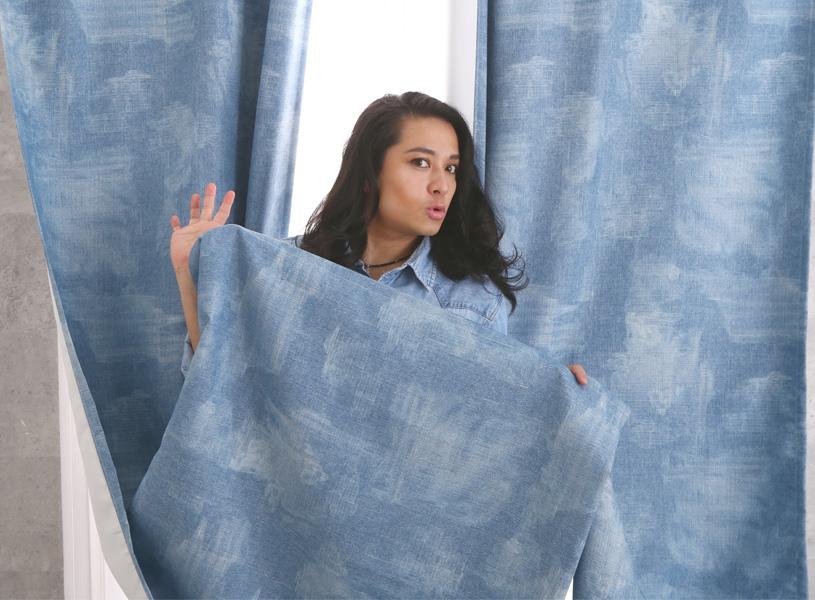 #2 HIDEKiSMのパーフェクトなカーテン!紹介しちゃうわよ♡【デニム風カーテン】