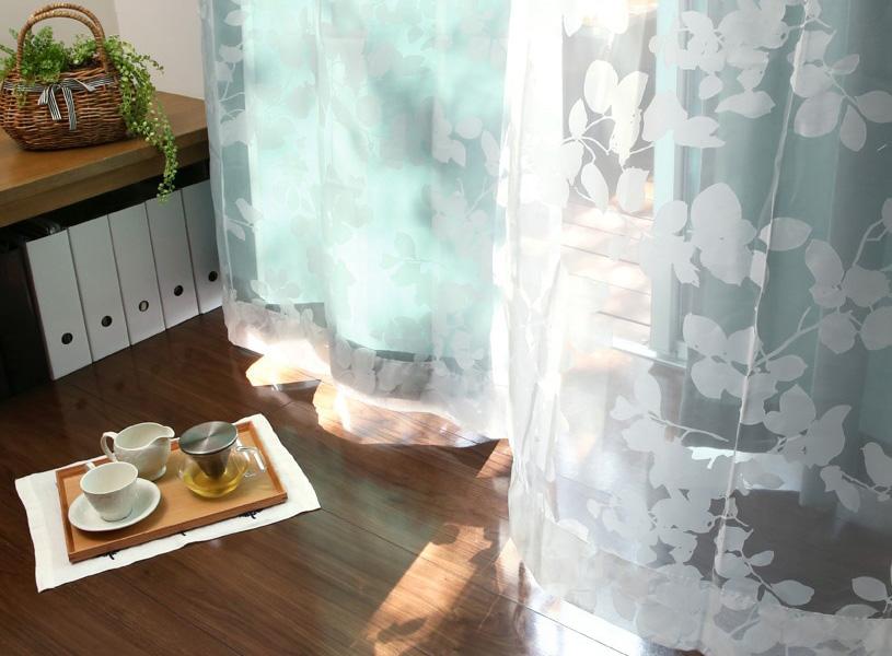 めざすのは透明感あふれる「特別」な空間!オパールレースカーテンのある暮らし