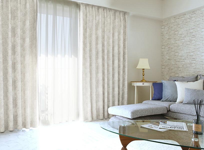 「ホテルライク」なインテリアを叶えるカーテン
